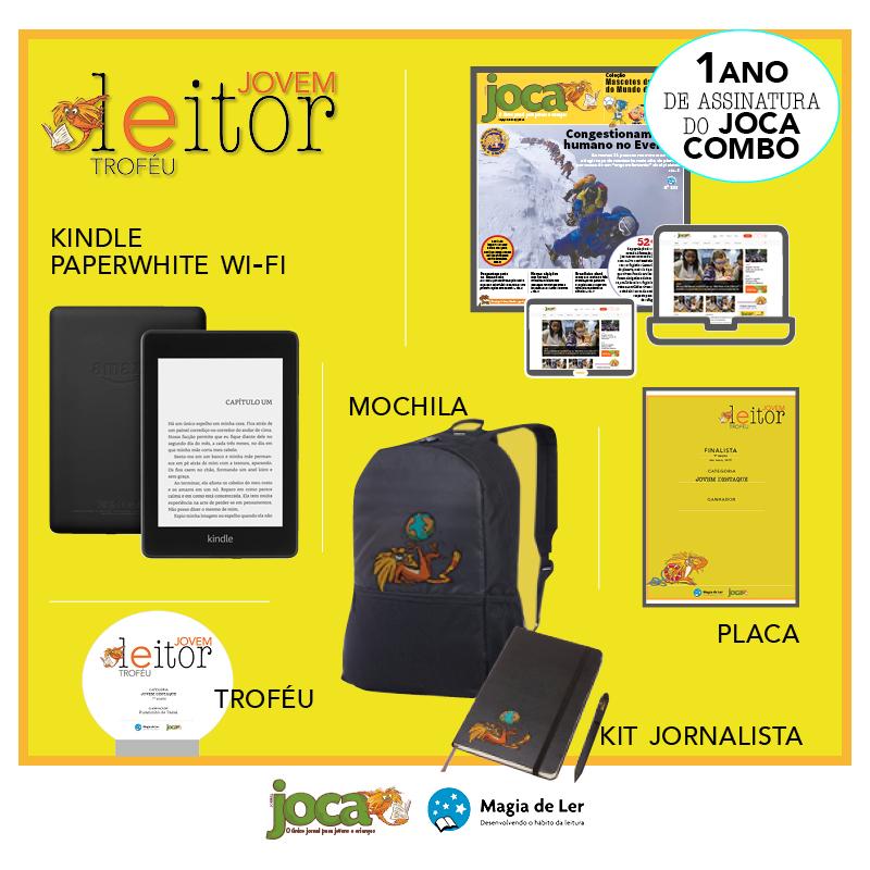Prêmio Troféu Jovem Leitor. Arte: Ana Beatriz Pádua