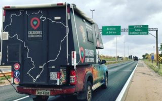 O veículo do casal, que os ajudou a percorrer mais de um milhão de quilômetros. Foto: Reprodução/ Facebook