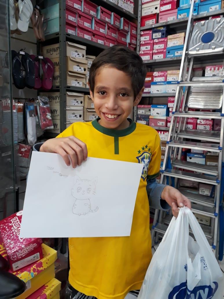 Jovens participam de ações de caridade destaque