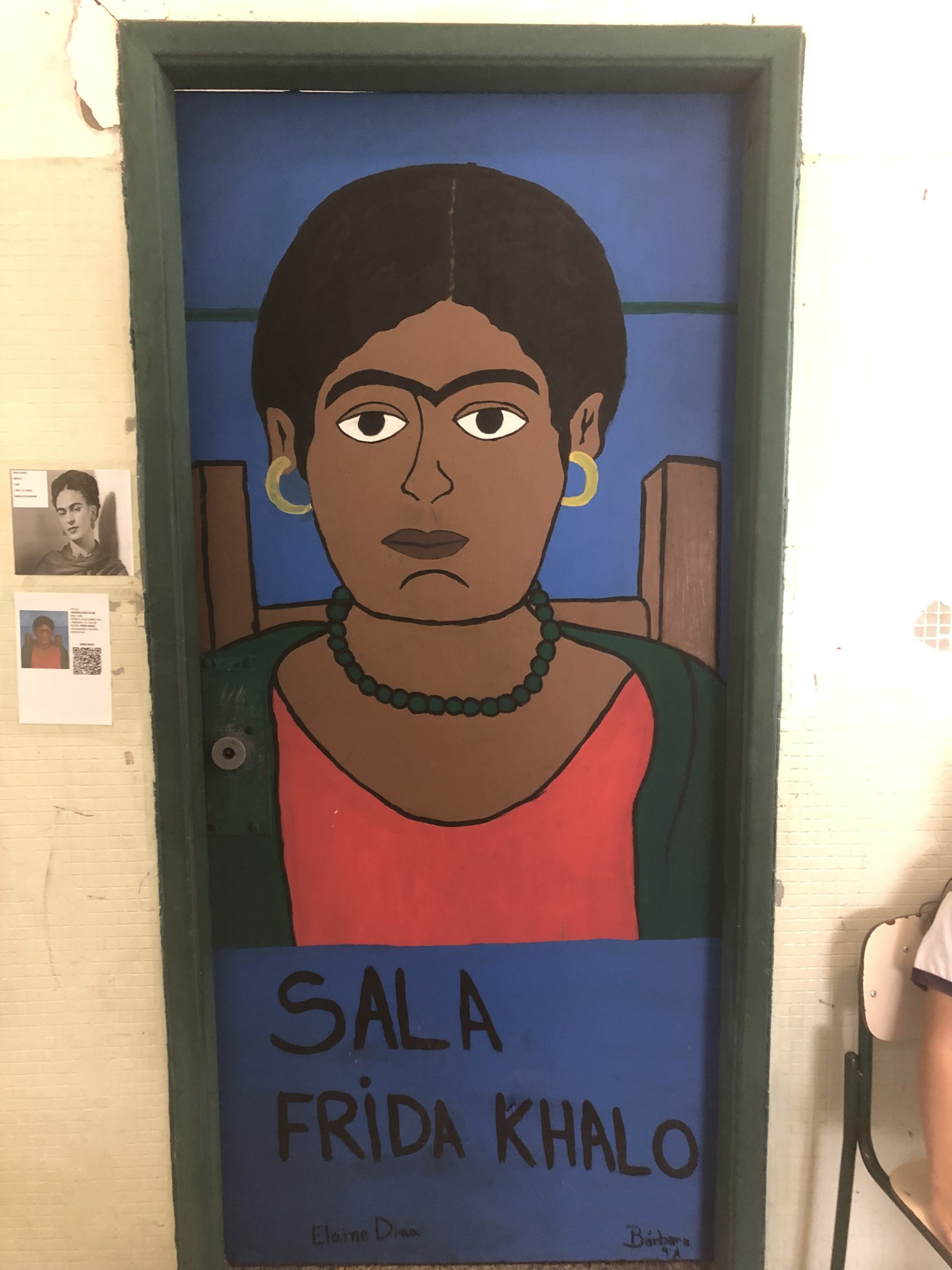 Frida - Quadros portas escola