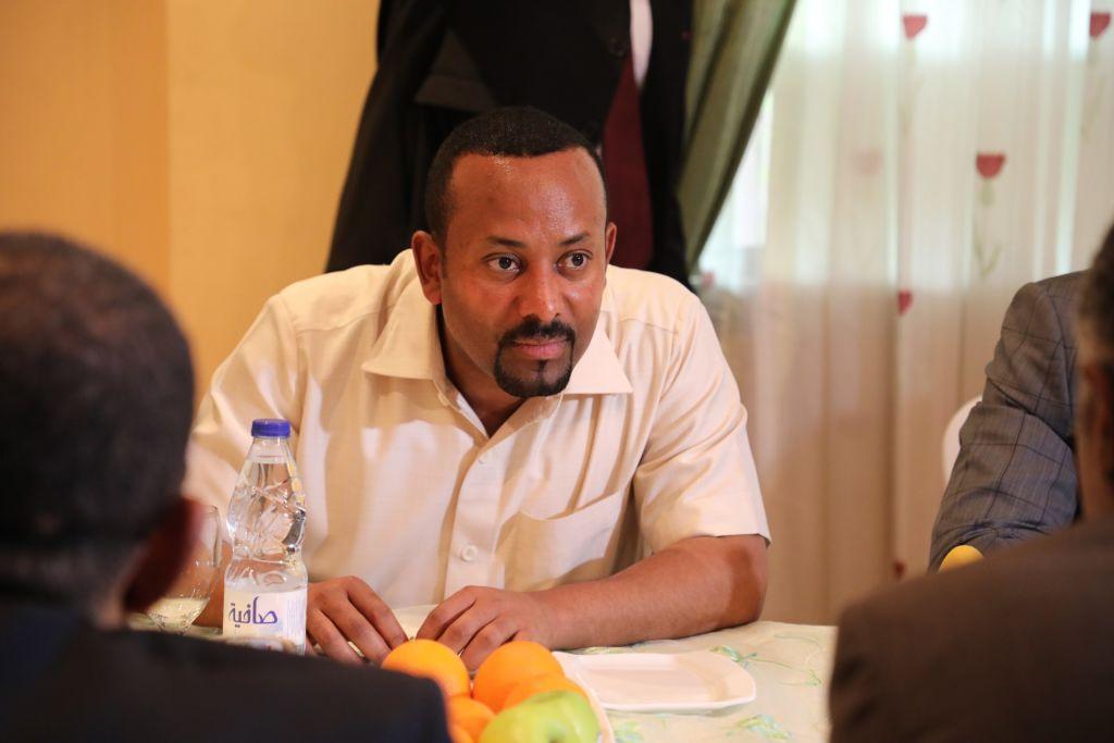 Abiy Ahmed, Primeiro Ministro da Etiópia, é o vencedor do Nobel da Paz de 2019. Foto: Mahmoud Hjaj/Anadolu Agency via Getty Images