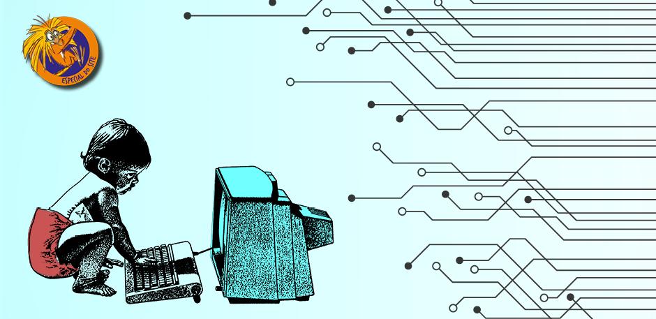 O Dia da Internet é comemorado em 29 de outubro. Arte: Ana Beatriz Pádua.