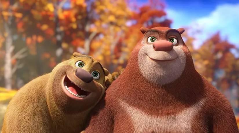"""Bramble e Briar são os protagonistas de """"Aventura em Miniatura"""", filme inspirado no seriado chinês """"Boonie Bears"""". Foto: Divulgação."""