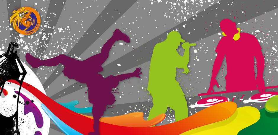 Em 12 de novembro é celebrado o Dia do Hip Hop. Arte: Beatriz Lopes.