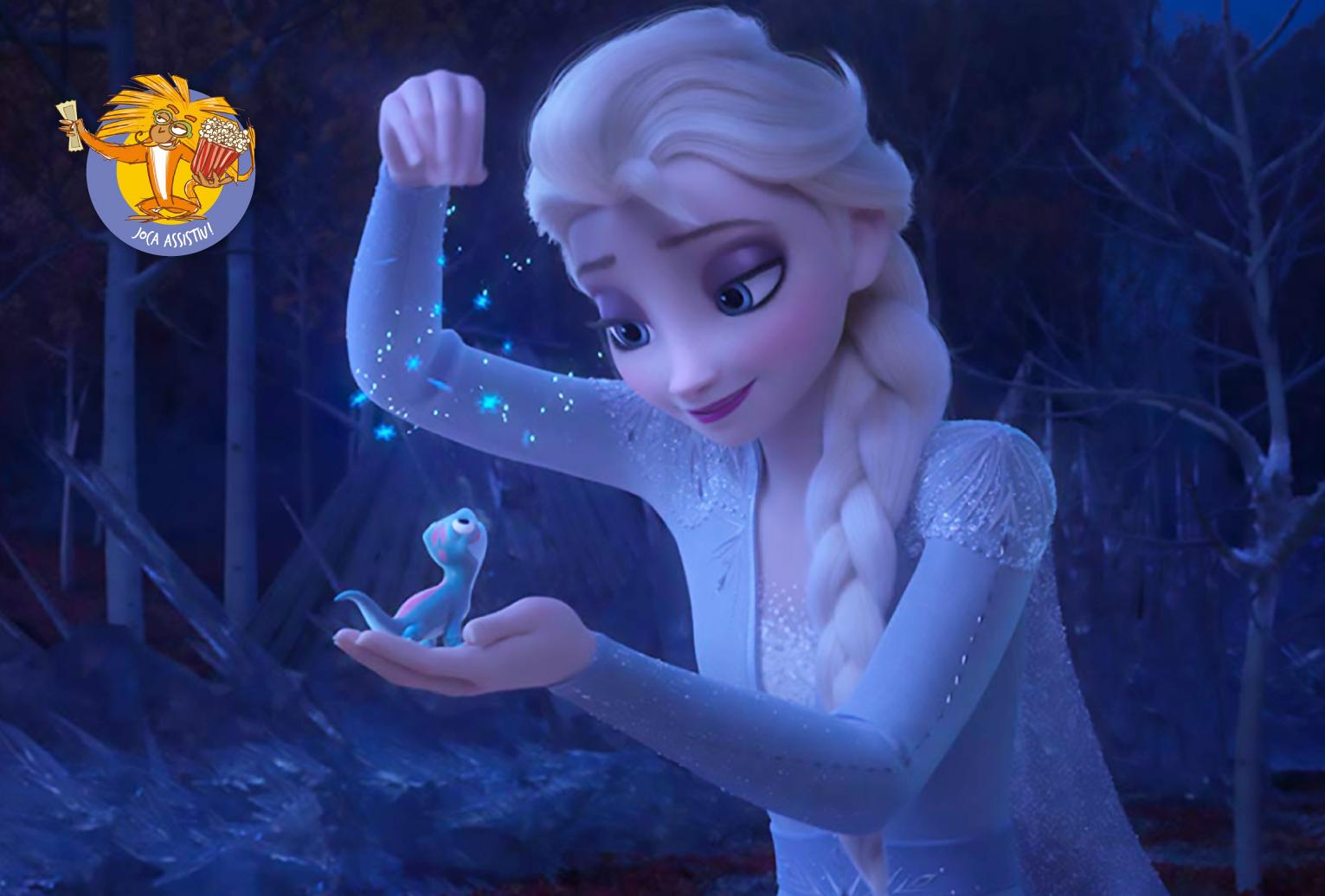 Em Frozen 2, Elsa irá descobrir o porquê de ela conseguir controlar o gelo. Foto: Divulgação.