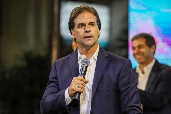 Luis Lacalle Pou assumirá a presidência do Uruguai em março de 2020. Foto: Mauricio Zina/SOPA Images/LightRocket via Getty Images