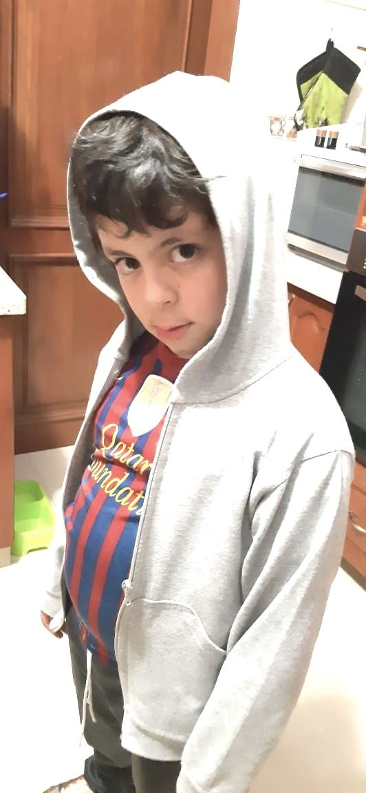 Benjamin F., 8 anos