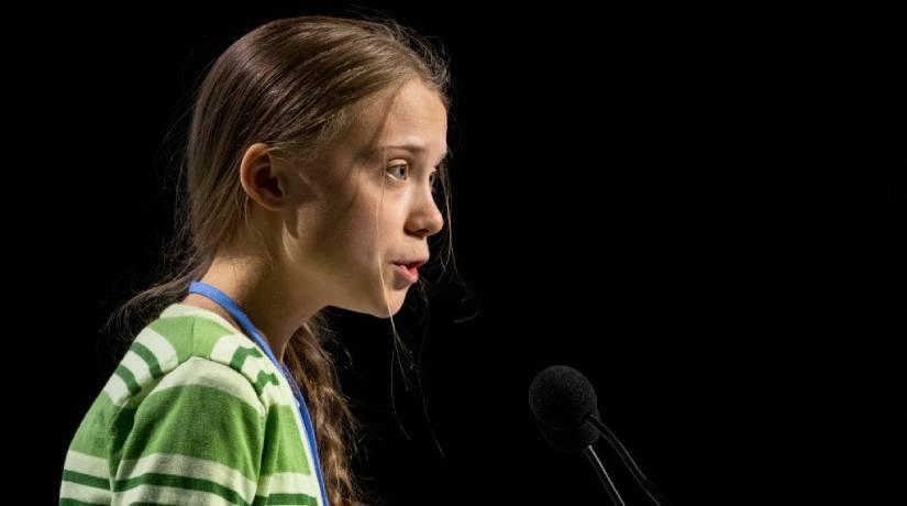Greta Thunberg incentivou jovens do mundo inteiro a manifestar pelo meio ambiente. Foto: Pablo Blazquez Dominguez/Getty Images
