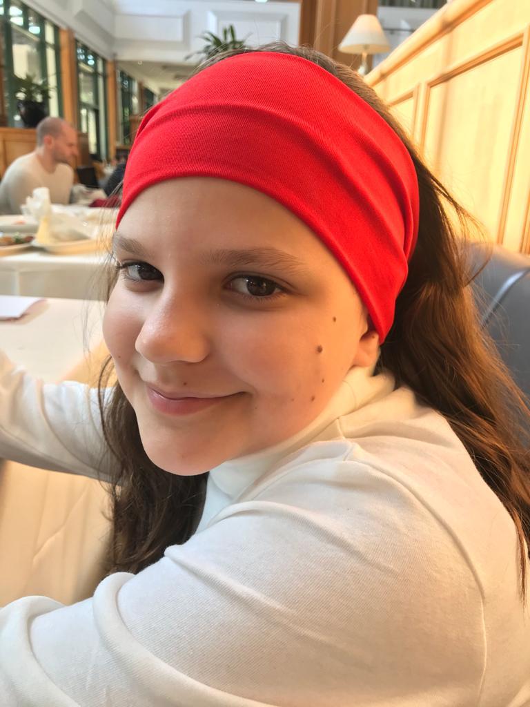 Carolina P. M., 11 anos, de Macau. Foto: Arquivo pessoal