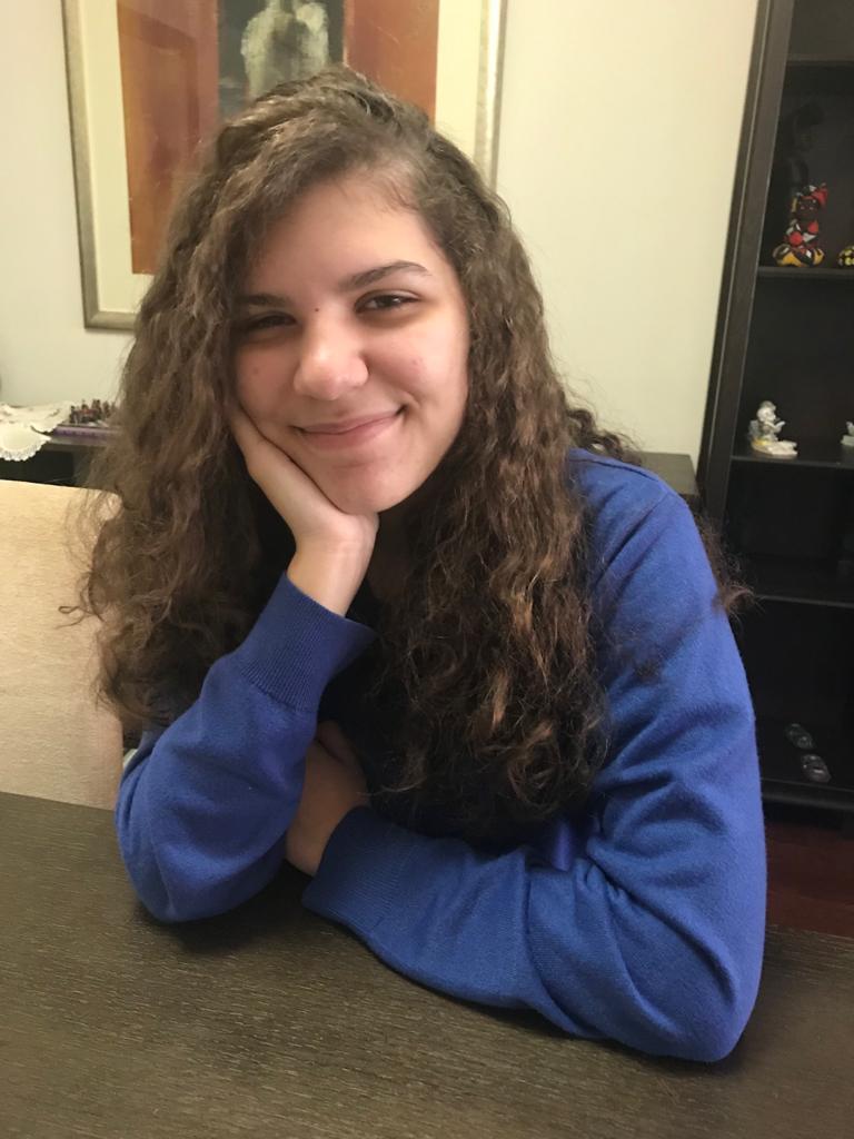 Melissa P. M., 14 anos, de Macau