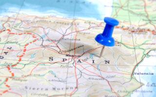 Espanha-Mapa